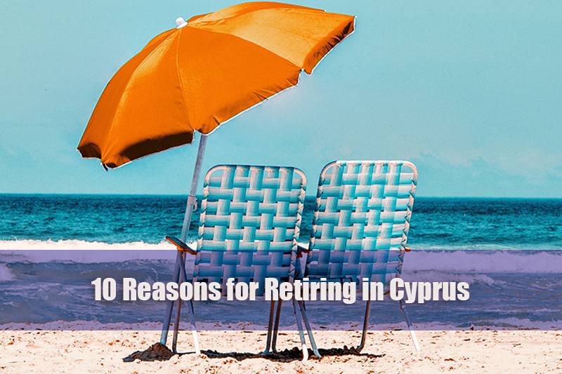 10 reasons for retiring in cyprus