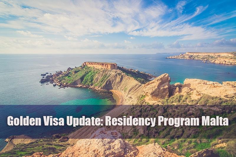 Golden Visa Update Malta